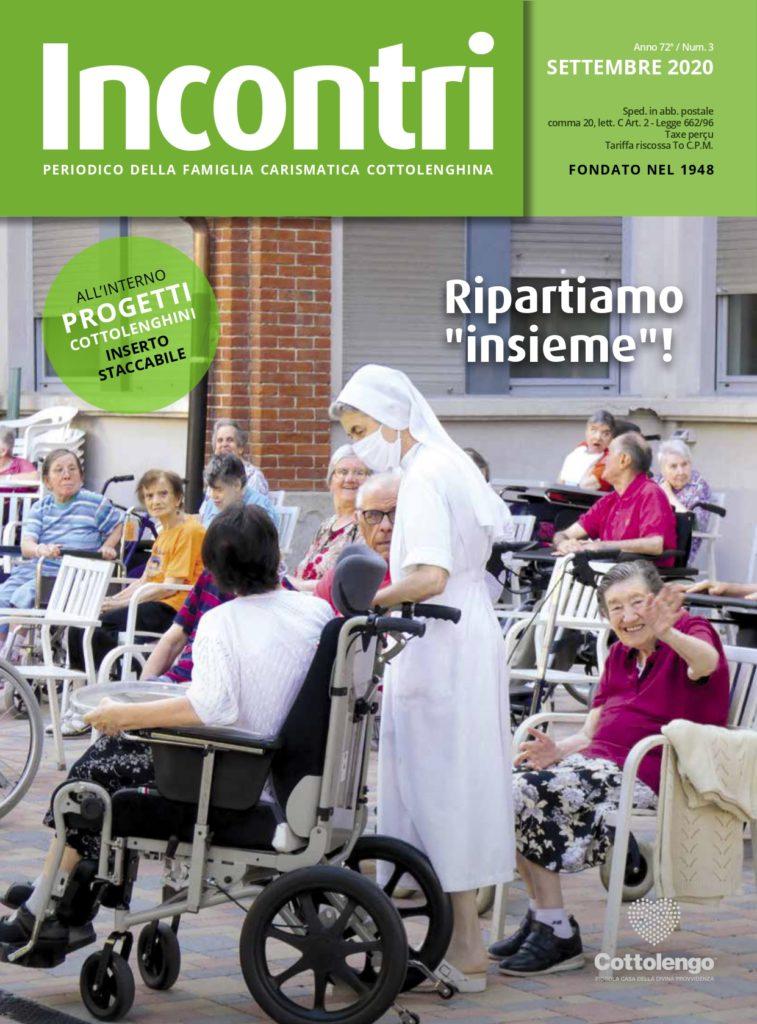 Copertina rivista Incontri settembre 2020